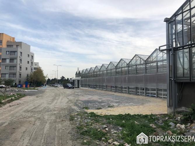 İstanbul Yıldız Teknik Üniversitesi Sera Projesi Dıştan